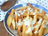 Poutine ( With Bechamel sauce ) | Poutine with White Gravy | Combo Dishes ~ Day 2