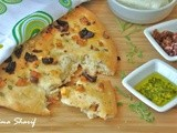 Mediterranean Focaccia with Rolled Halloumi Cheese For Kari's Fresh Mystery Basket Challenge