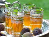 Traditional, Old Fashioned Mint Tea & Flavoured Water - Drinks from old traditions revived into new Ramadani traditions