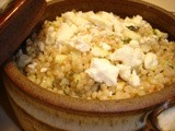 Israeli Couscous with Apples, Mint, and Feta