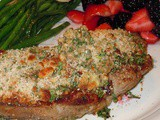 Dad Does Dinner - Blue Cheese Crusted Steaks