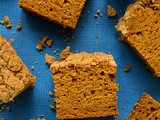 Crumble Topped Pumpkin Spice Cake