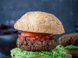 Mushroom Lentil Burgers (Vegan) And Win a bbq With Stokes Sauces