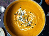 Spiced Carrot And Pumpkin Soup (Vegan)