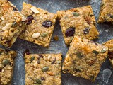 Vegan Fruit And Nut Flapjacks