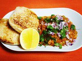 Bombay Style Pav Bhaji Recipe | Mashed Vegetables in Spiced Tomato & Butter Gravy