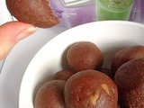 Sweet potato hemp protein brownie beauty balls