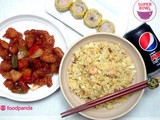 It's The Food You Love, Delivered: a Super Bowl of China Delivery by foodpanda
