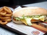 More Than the Usual: Meet the x-Tra Long Chicken Burger