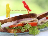 Chicken ham sandwich/ cheese chicken ham sandwich/ chicken sandwich