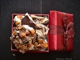 Marbled Chocolate Bark....Shapeless diary milk nuts and fruits..:)