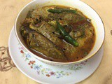 `Kholisha Fish Recipe/Kholshe Macher Jhal