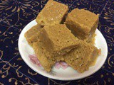 Quick And Easy To Make Mysore Pak In Microwave