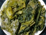 Spinach With Vegetables/ Healthy Spinach Curry/Palak Curry