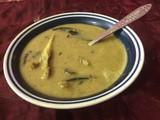 Urad (Biuli) Dal With Fish Head/Lentils With Fish Head
