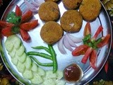 Vegetable Cutlet/Vegetables Fritters/Vegetable Chop