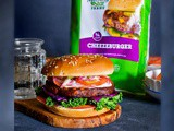 Best Fall Veggie Burger with Pickled Apple – Onion Coleslaw