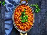 Chole Masala Recipe – Indian Chickpea Curry (v+gf)