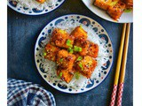 Firecracker Tofu (Sweet Spicy Crispy Tofu Recipe)