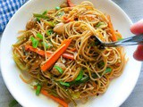 Quick Spicy Chicken Chow Mein Recipe (Easy and Lighter)