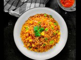 Quick Sweet Corn Fried Rice (15 Minutes Recipe)