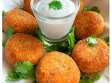 Spicy Indian Fish Croquette (Bengali Macher Chop)