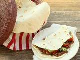 Muy Bueno Cookbook Spotlight #2:  Brisket Tacos with Homemade Flour Tortillas