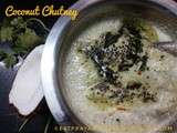 Coconut Chutney - Simple yet Significant