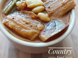 Karuvattu Kuzhambu (Dry Fish Gravy with other veggies) - Rejuvenate your taste buds