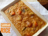 Sambar Rice - Simply The Best of South