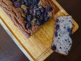 Flourless Blueberry Banana Bread