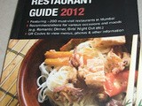 Zomato Restaurant Guide 2012 - a Book Review