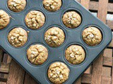 Banana Oats Atta Muffins for Toddlers