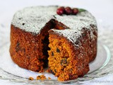 Kerala plum cake, Christmas fruit cake recipe step by step