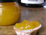 Confiture douce de potiron à l'orange
