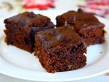 Low-Fat Vegan Sweet Potato Brownies