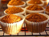 Whole Grain Vegan Apple Bran Muffins