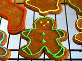 Whole Wheat Gingerbread Cookies Recipe