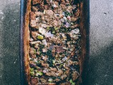 Simple {gluten-free} Sourdough Stuffing and a 2020 Thanksgiving Menu