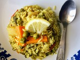 Vegetable Palav | Karnataka Style Vegetable Pulao