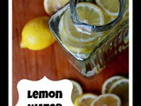 Healthy Diet Plan and my Lemon Water Cleanse