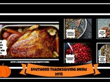 Southern Thanksgiving Menu 2015