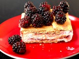 Fruit jam icebox cake