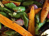 "Summer Farmers Market Vegetable Roast – ""Blistered"" Vegetables"