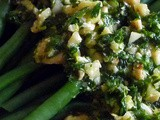 Toasted Hazelnut Gremolata with Green Beans for the Holidays