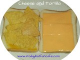 Cheese and Tortilla Sandwich