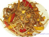 Chilli Bean Sprout Stir Fry