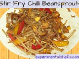 Stir Fry Chilli Bean Sprouts