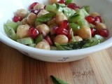 Chickpea,Cucumber & Pomegranate Salad | Summer is here