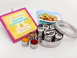 Winner: Spice Masala Dabba Authentic Indian Cookery Set by The Three Sisters